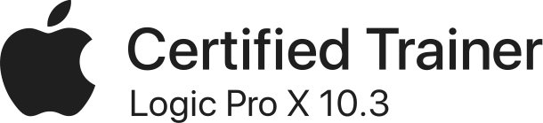 Certified Trainer Logic Pro X 10.3 blk US 041017