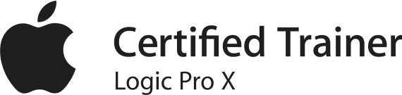 Certified Trainer Logic Pro X
