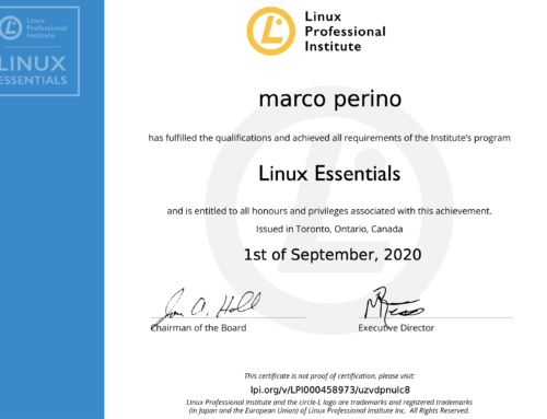 Certificazione Linux