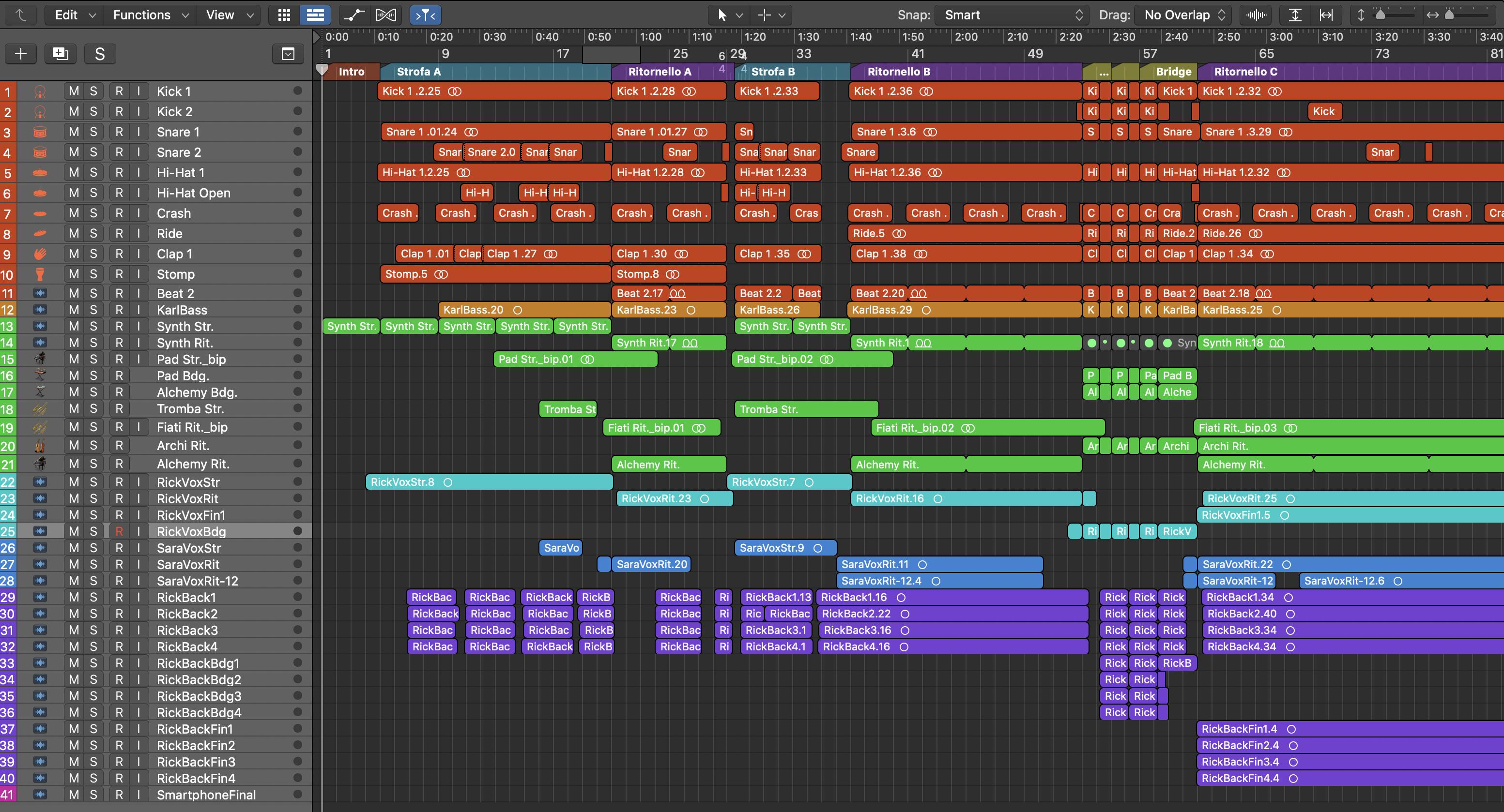 Logic Pro X Marco Perino Dallidea al mastering