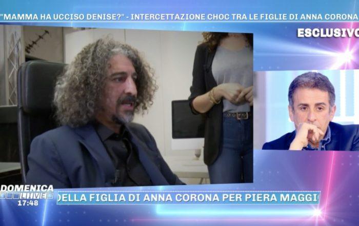 Marco Perino - Perito Fonico Forense - Analisi Intercettazione figlie Anna Corona