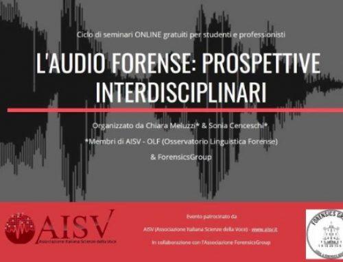 L'Audio Forense in Italia, e il mondo delle Perizie Foniche e dei Periti Fonici, questi sconosciuti