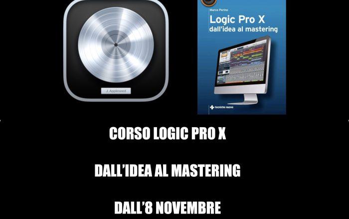 Corso Logic Pro - Novembre